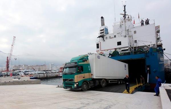 rampa muelle de Gibraltar