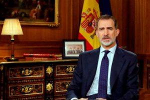 El rey Felipe ve a Cataluña como seria preocupación