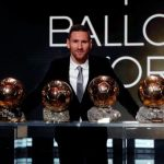 Lionel Messi récord de 6º Balón de Oro