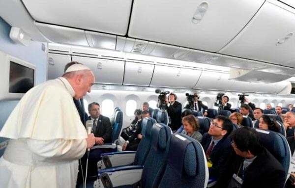 Papa Francisco incluye a España como problemática