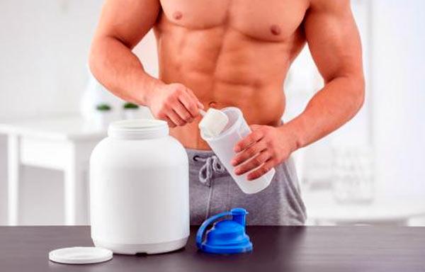 Suplementos masa muscular