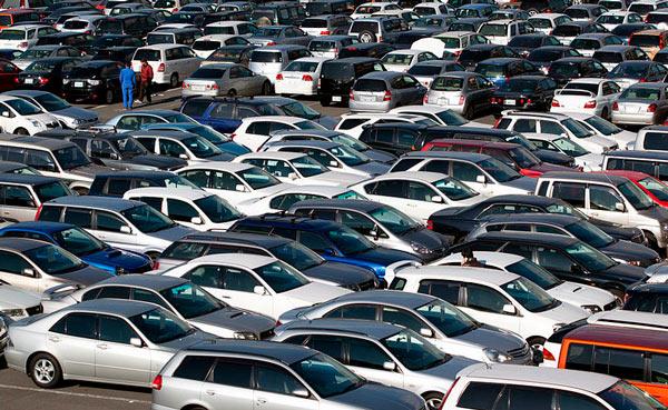 encontrar el coche parking